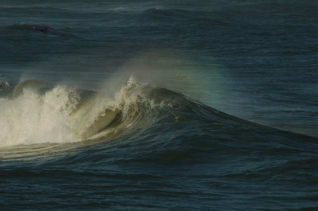 wave spray shows prism