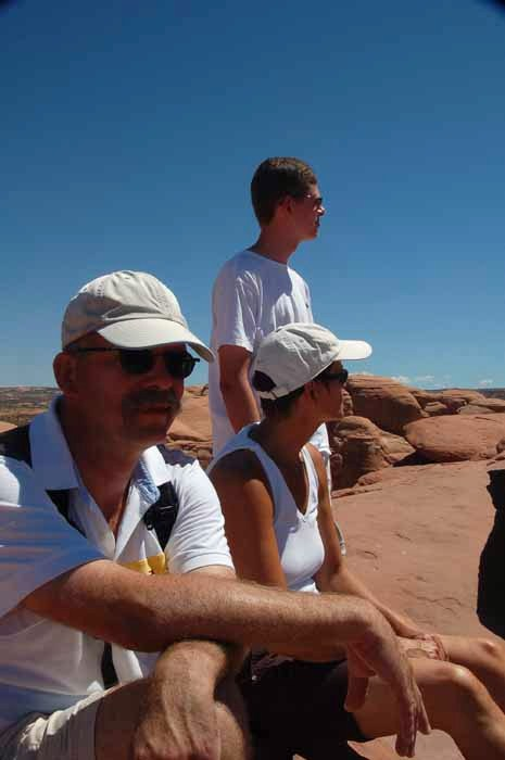at Delicate Arch