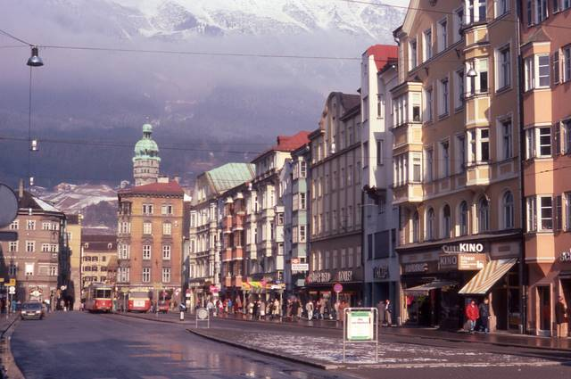 city center Innsbruck