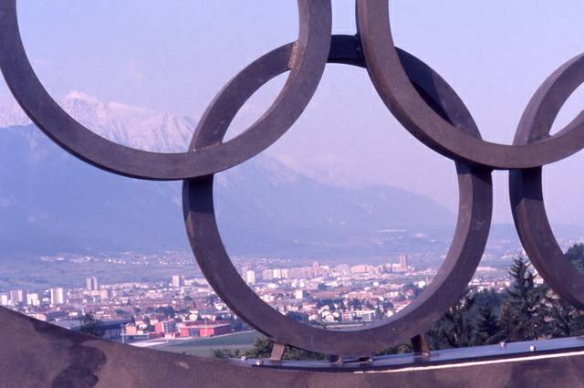 1976 Winter Olympics circles