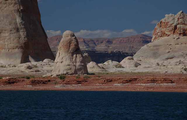 Rock formation on Lake Powell