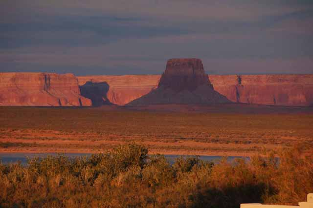 Tower Butte on Lake Powell
