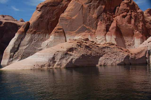 lake powell rock formations