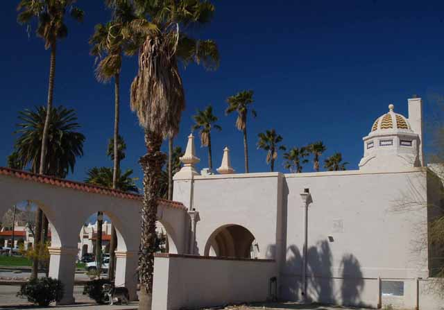 Ajo's historic plaza