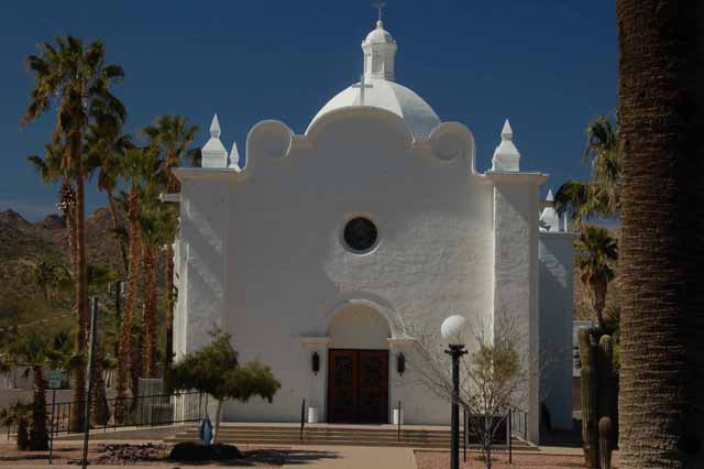 The Immaculate Conception Catholic Church, Ajo