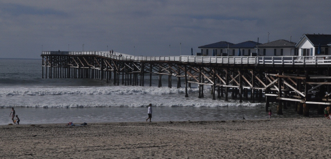 Crystal Pier at Pacific Beach