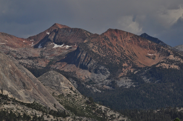 The Sierras from Sentinel Dome