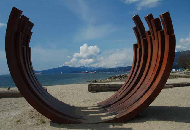 English Bay sculpture