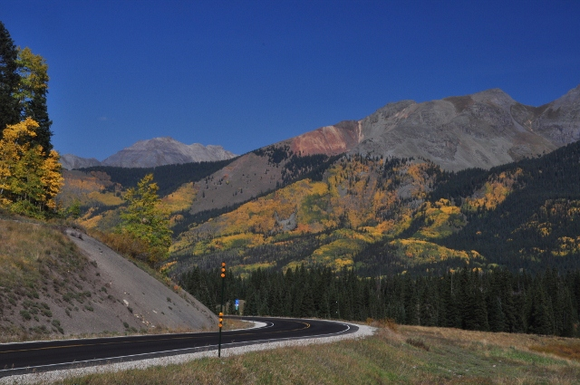 colors along the highway 145