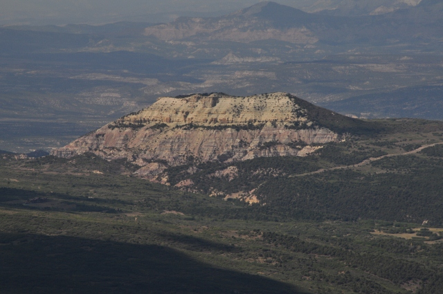 the Colorado National Monument from a distance