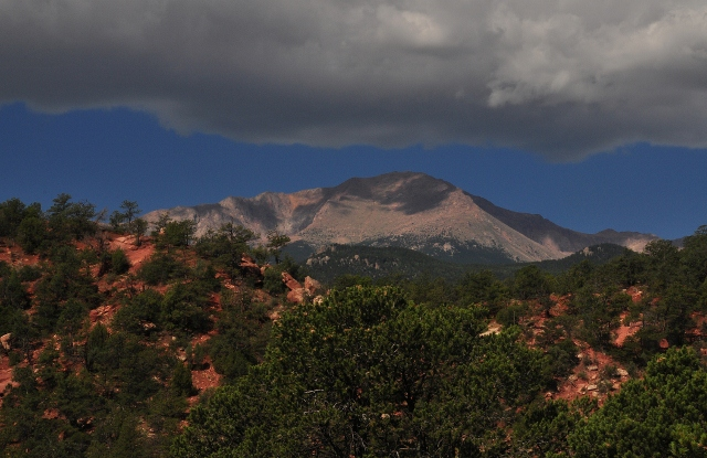 Pike's Peak from the park