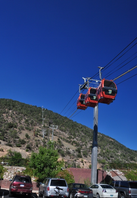 gondola up to Ironwood Mountain