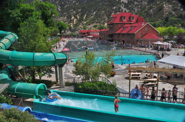 The Glenwood Hot Springs