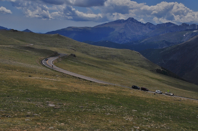 From the Rock Cut stop on Trail Ridge Road