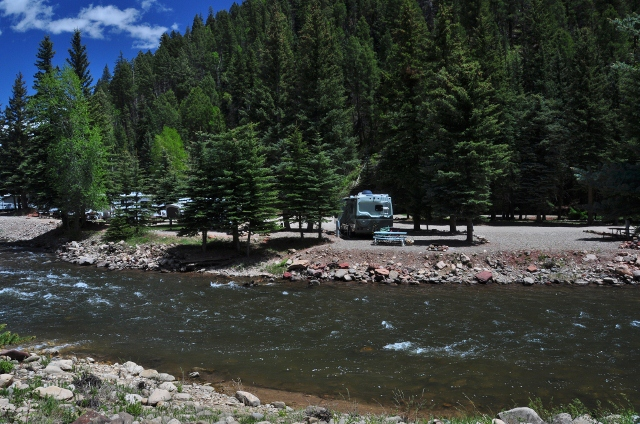 the Priest Gulch RV Park is one of the nicest I've ever stayed in