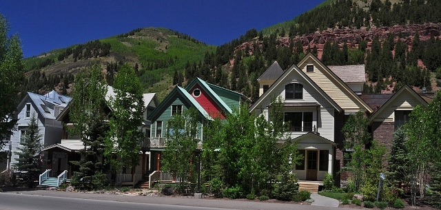 the houses of Telluride