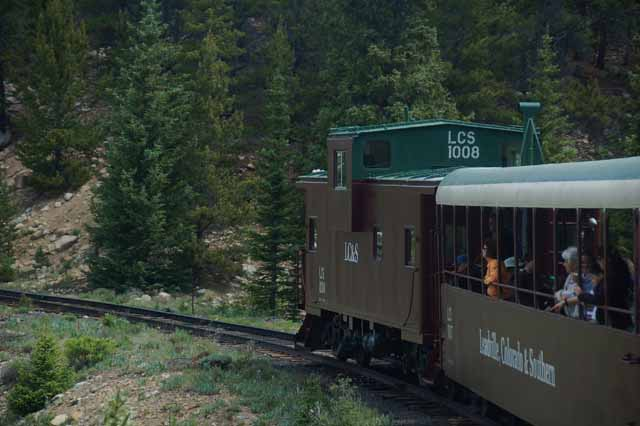 the Leadville, Colorado and Southern excursion train