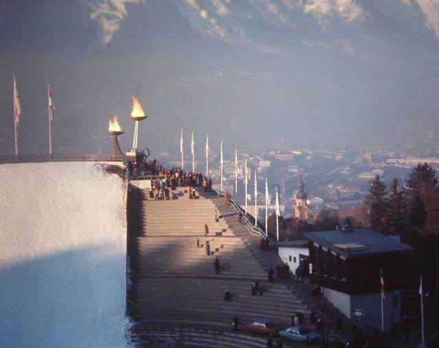 Olympic torches, Innsbruck, Austria