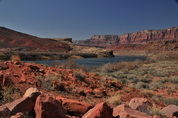 the red dirt of Pariah Canyon, Arizona
