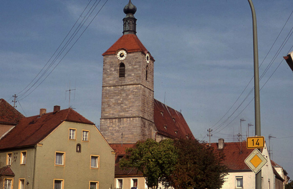 in the town of Hahnbach