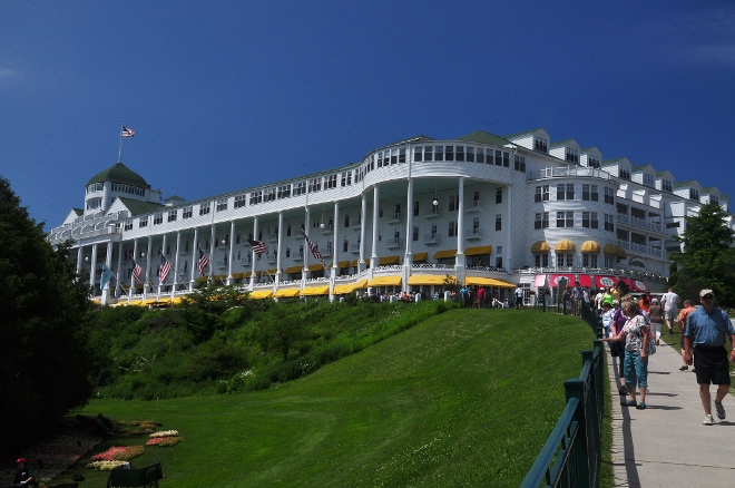 the Grand Hotel, front