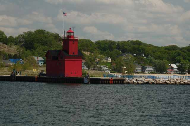 Big Red, Holland's lighthouse