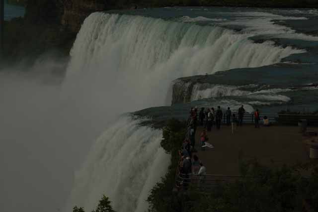 The American Falls, The Bridal Veil and Luna Island