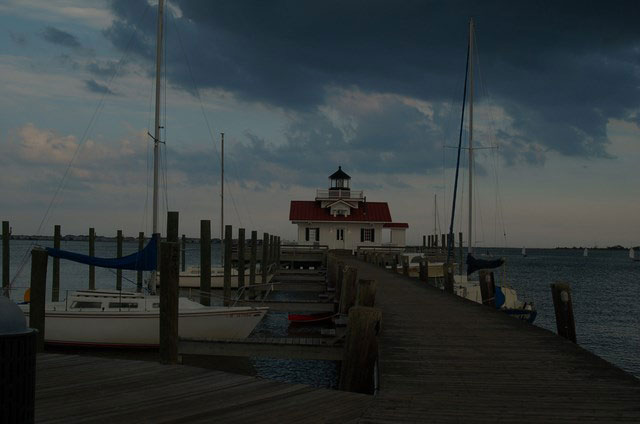 Manteo harbor house