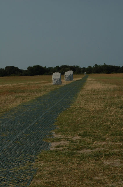 Wright Brothers Memorial runway