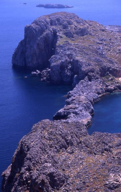st paul bay from lindos