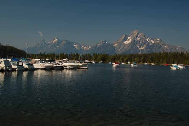 The Tetons at Colter Bay