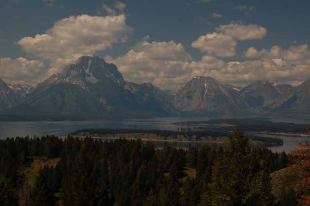 The Tetons from Signal Mountain