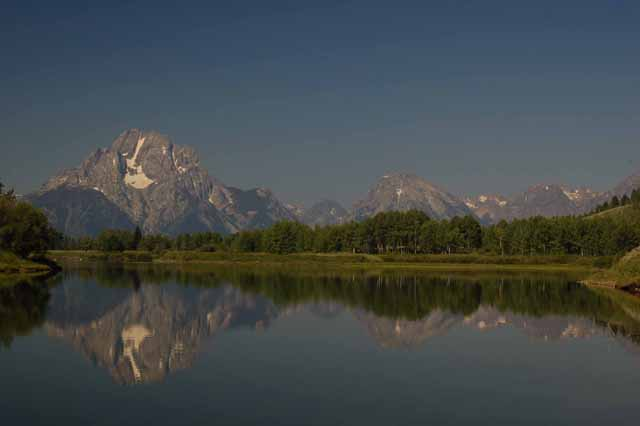The Tetons, full range