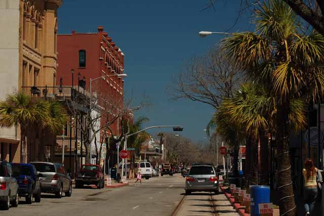 Galveston downtown