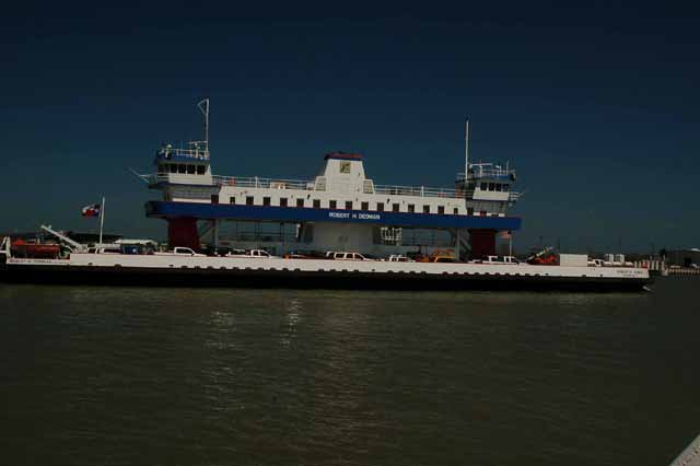 Galveston-Bolivar ferry