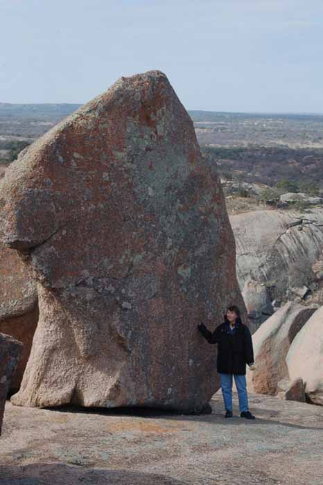 grace and Enchanted Rock