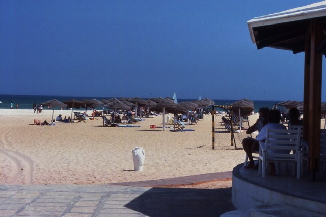 the beach of the Royal Phenecia Hotel, Hammamet