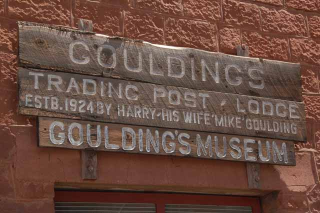 goulding's sign