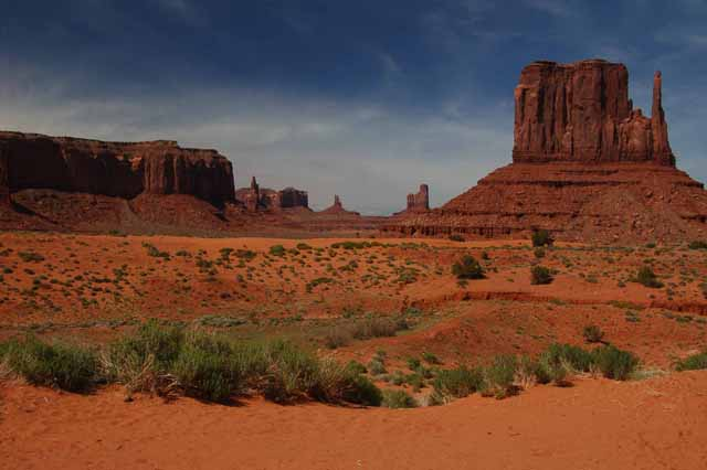 Monument Valley monuments group